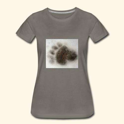 Bear footprint - Women's Premium T-Shirt