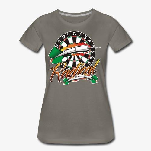 Radical Darts Shirt - Women's Premium T-Shirt
