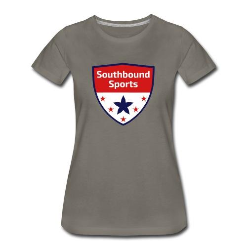 Southbound Sports Crest Logo - Women's Premium T-Shirt