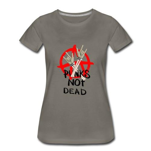 Punks not dead! Zombie hands & Anarchy - Women's Premium T-Shirt