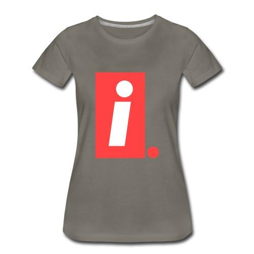 Ideal I logo - Women's Premium T-Shirt