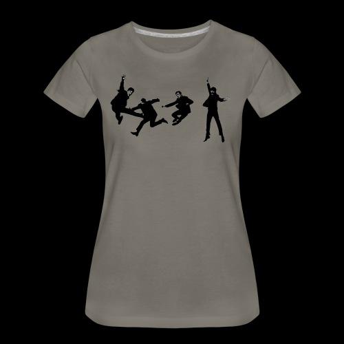 beatles jump - Women's Premium T-Shirt