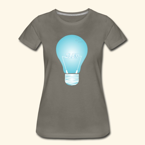 CREATIVE DESIGN || GLOW - Women's Premium T-Shirt