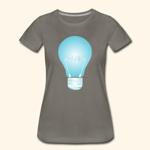CREATIVE DESIGN || GLOW - Women's Premium T-Shirt