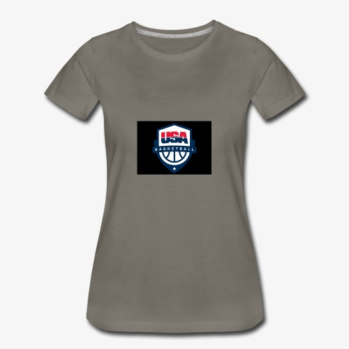 Team USA phone cases or shirts - Women's Premium T-Shirt