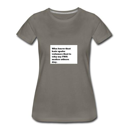 1 TWA TWA - Women's Premium T-Shirt