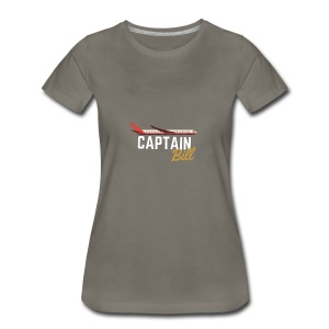 Captain Bill Avaition products - Women's Premium T-Shirt