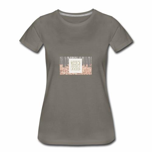 CleanLeaves - Women's Premium T-Shirt