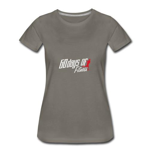 60 Days Of Fitness - Women's Premium T-Shirt