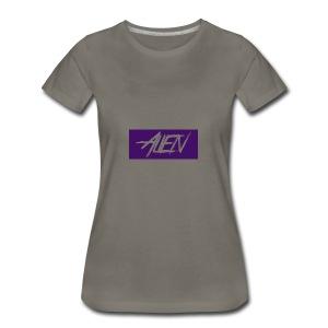Alien-word-logo - Women's Premium T-Shirt