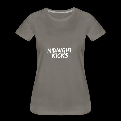 Midnight Kicks Logo - Women's Premium T-Shirt
