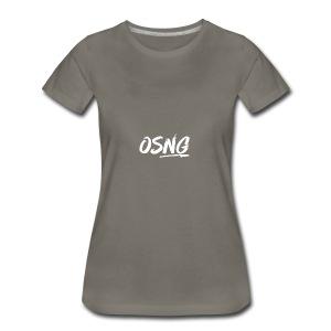 ALLWHITESLASH - Women's Premium T-Shirt