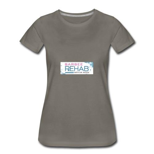 barbeerehabpink - Women's Premium T-Shirt