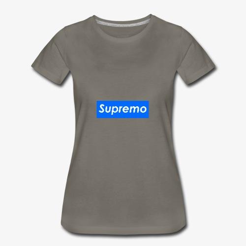 Supremo Blue - Women's Premium T-Shirt