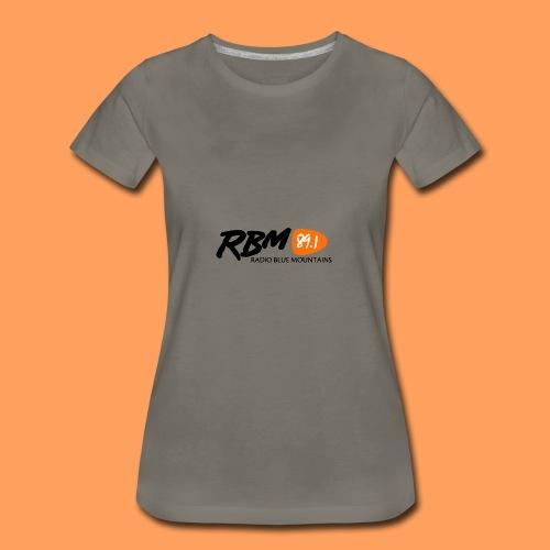 RBM Logo - Orange - Women's Premium T-Shirt