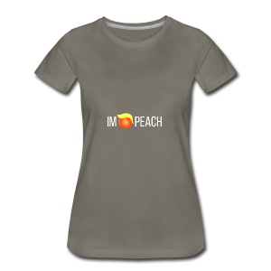 IMPEACH / WHITE - Women's Premium T-Shirt