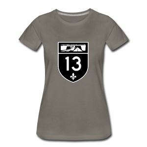 Highway 13 - Women's Premium T-Shirt