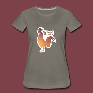 Year of Rooster - Women's Premium T-Shirt