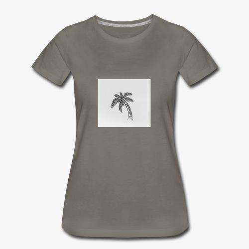 Palm Tree - Women's Premium T-Shirt