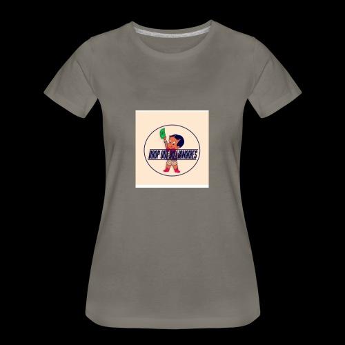 DROP OUT BILLIONAIRES ATTIRE - Women's Premium T-Shirt