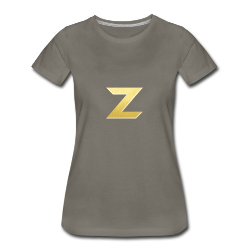 Zonary Alliance Gold logo Shirt - Women's Premium T-Shirt