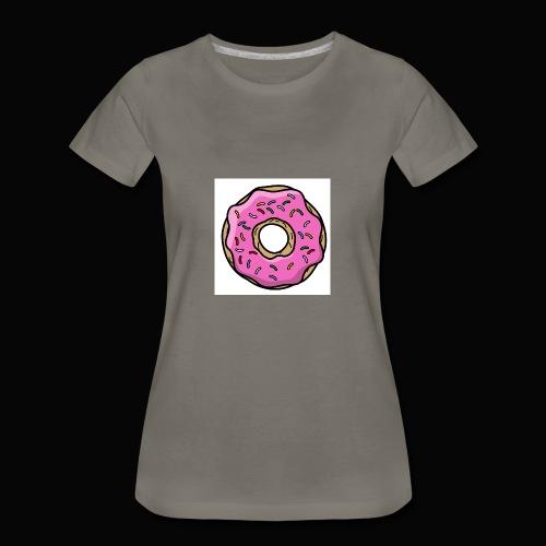 Doughnut Style - Women's Premium T-Shirt