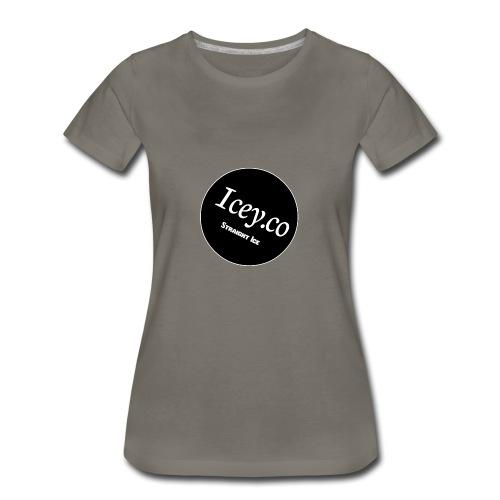 Icey.co straight ice range - Women's Premium T-Shirt