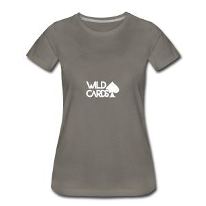 Black Wild Cards Hoodie - Women's Premium T-Shirt