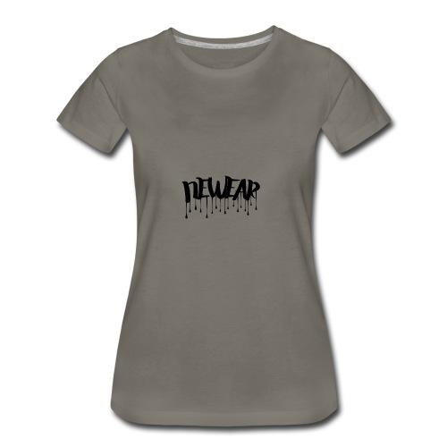 NEWEAR Logo BLACK - Women's Premium T-Shirt