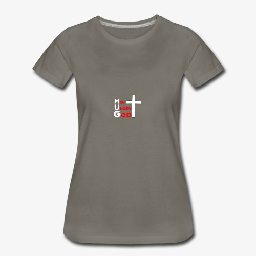 MUG Men Under God without coffee mug - Women's Premium T-Shirt