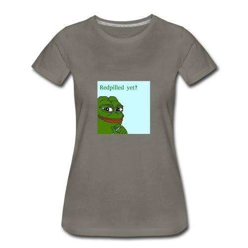 Smug Pepe Design - Women's Premium T-Shirt
