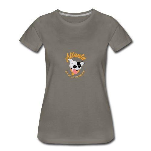 Atlanta Pit Bull Parents logo - Women's Premium T-Shirt