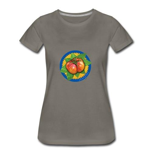 Heirloom Tomato Art, by Urban Gardens - Women's Premium T-Shirt