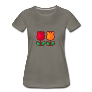 Loving Tulips - Women's Premium T-Shirt