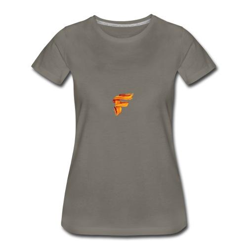 FlameyMC's Logo - Women's Premium T-Shirt