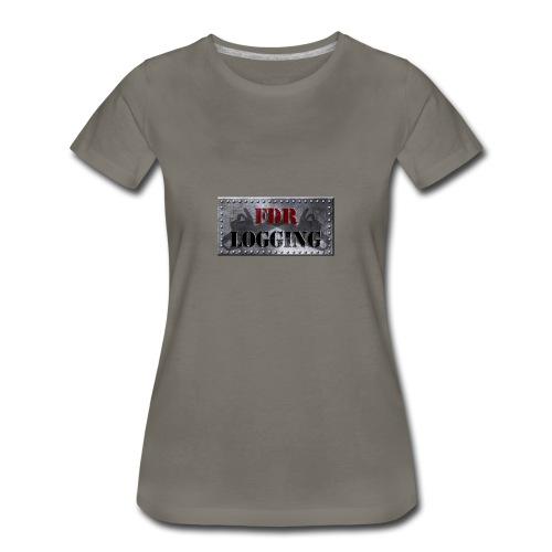 FDR Logging Main Logo - Women's Premium T-Shirt