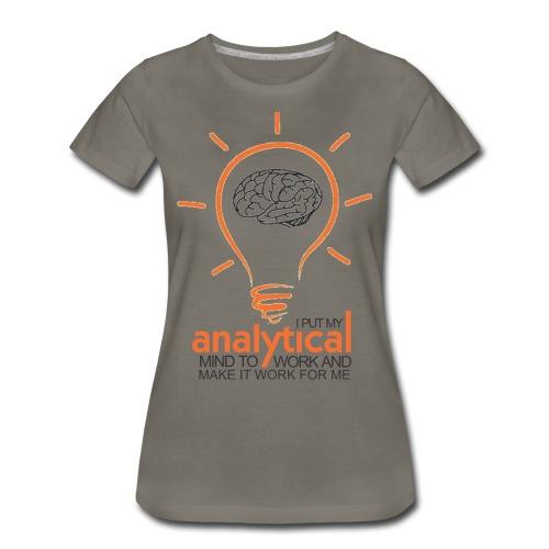 ANALYTICAL MIND - Women's Premium T-Shirt