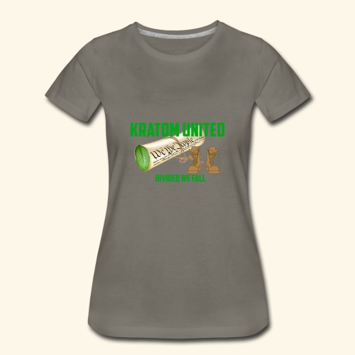 Kratom United - Women's Premium T-Shirt