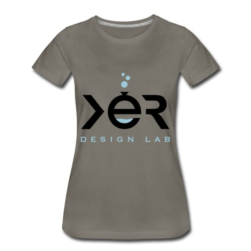 xer logo black - Women's Premium T-Shirt