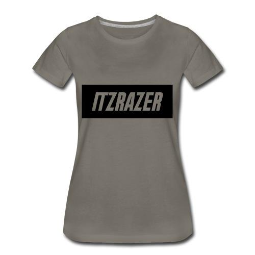 ITZRAZER LOGO - Women's Premium T-Shirt