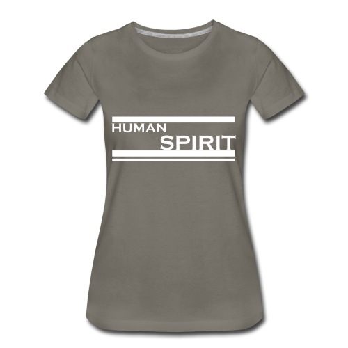 Human Spirit white - Women's Premium T-Shirt