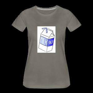Boîte de lait - T-shirt premium pour femmes