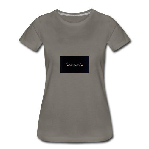 black and gold t shirt - Women's Premium T-Shirt
