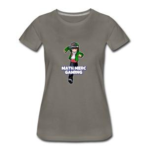 Math Merc Gaming - T-shirt premium pour femmes