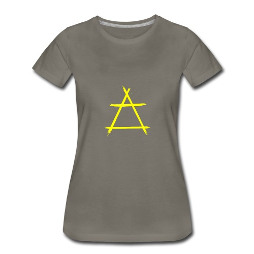 Element icon air yellow - Women's Premium T-Shirt