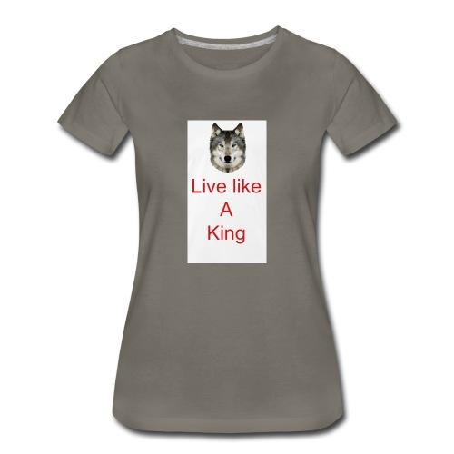 6EE52758 4074 4452 BF05 FCD02F511EF3 - Women's Premium T-Shirt