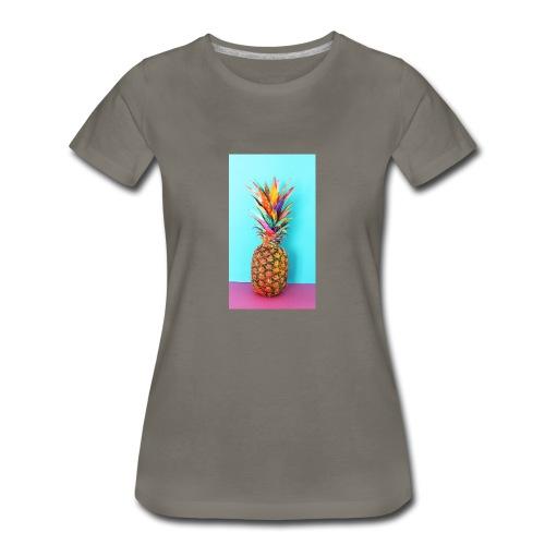 Colorful pineapple - Women's Premium T-Shirt
