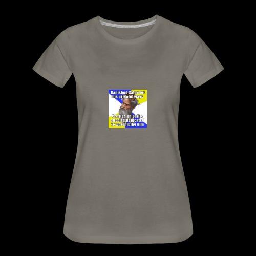 Hypocrite god - Women's Premium T-Shirt