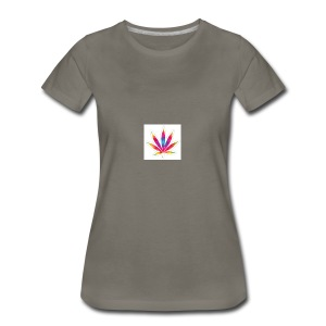 weed leaf2 0 - Women's Premium T-Shirt