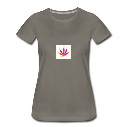 weed leaf2 0 - Women's Premium T-Shirt